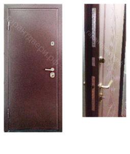 """Входная металлическая дверь """"ТРИ+"""""""