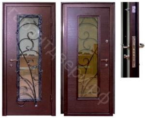"""Входная металлическая дверь """"ГРАНТ-ВИТРУМ"""""""