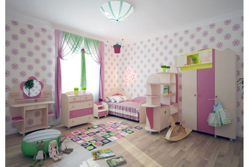 Комплект детской мебели «НАСТЕНЬКА»
