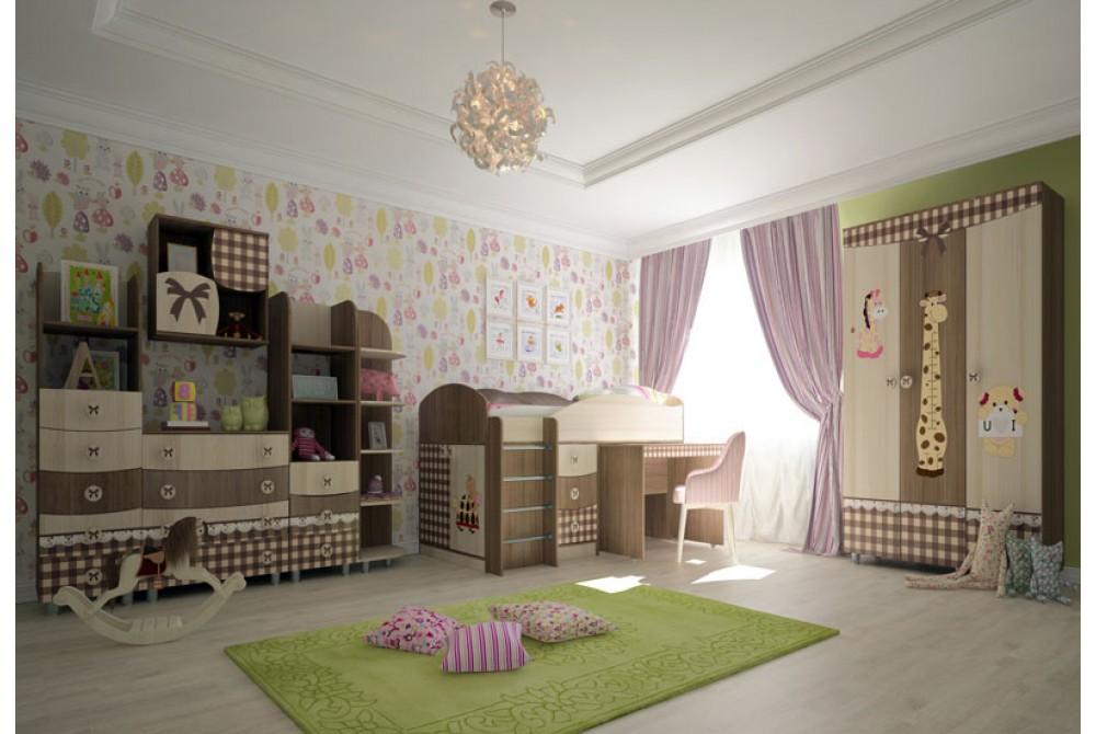 Комплект детской мебели «Алиса»