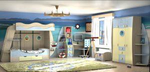 Комплект детской мебели «ЮНГА»